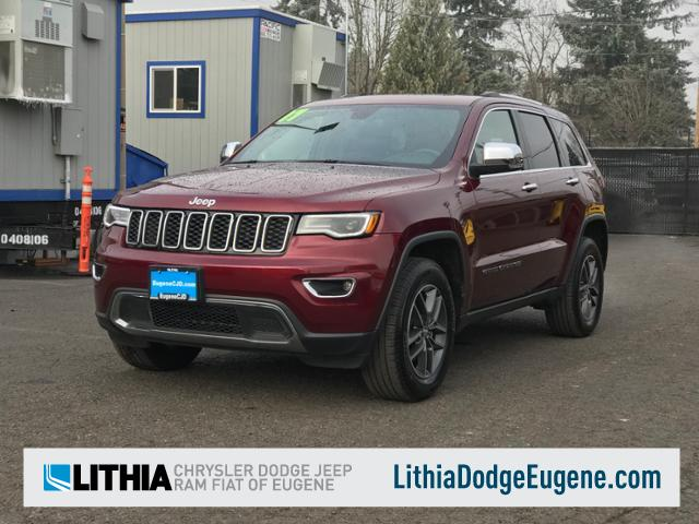 Eugene, OR - 2017 Jeep Grand Cherokee