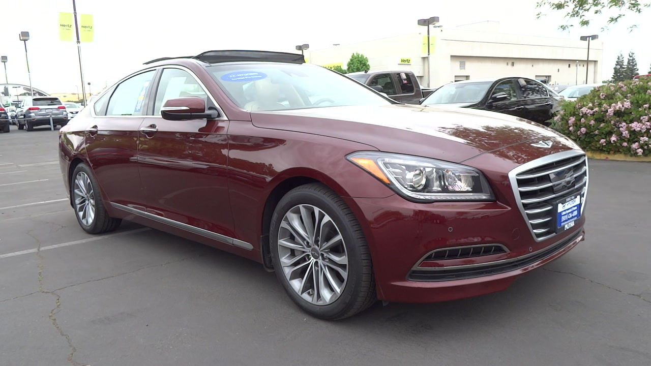 new and used hyundai genesis for sale in fresno ca the car connection. Black Bedroom Furniture Sets. Home Design Ideas