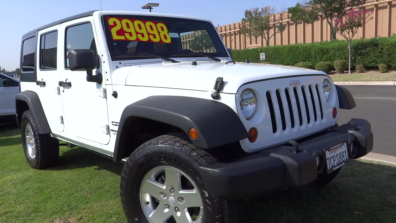 new and used jeeps for sale in fresno california ca. Black Bedroom Furniture Sets. Home Design Ideas