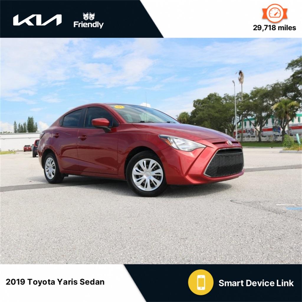 Toyota Yaris Sedan Under 500 Dollars Down