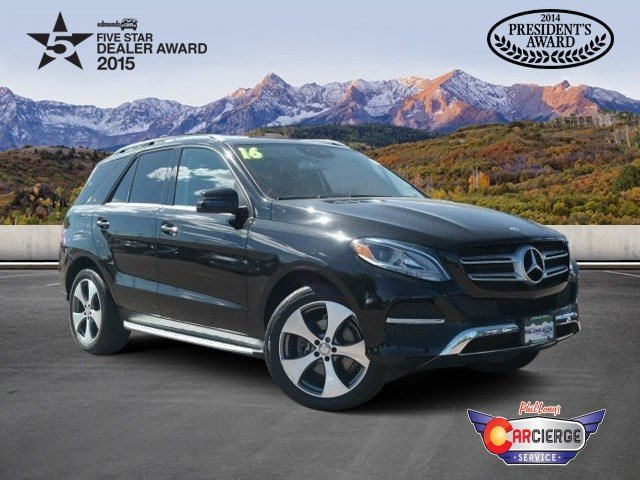 Littleton, CO - 2016 Mercedes-Benz GLE-Class