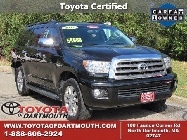 North Dartmouth, MA - 2017 Toyota Sequoia