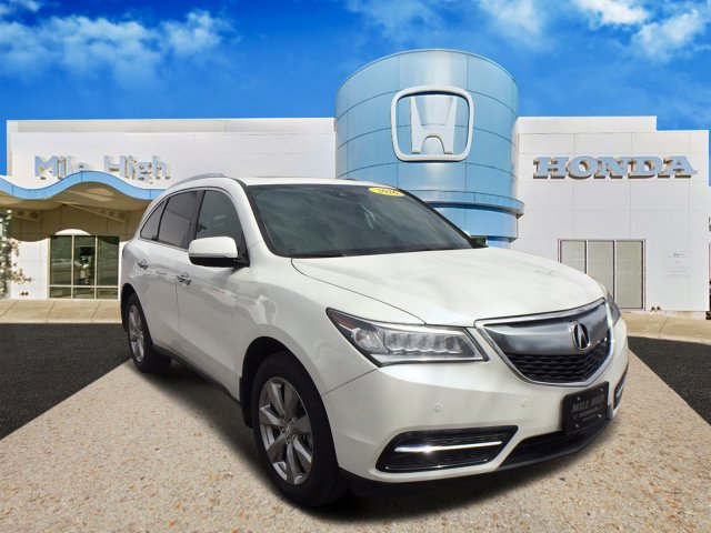 2016 Acura MDX w/Advance