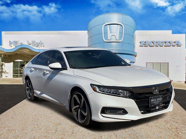 2018 Honda ACCORD SEDAN Sport 2.0T photo