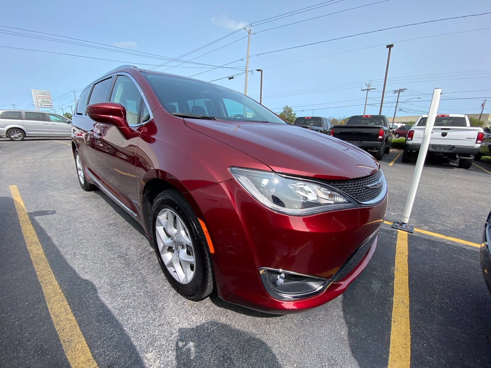 Chrysler Pacifica Under 500 Dollars Down