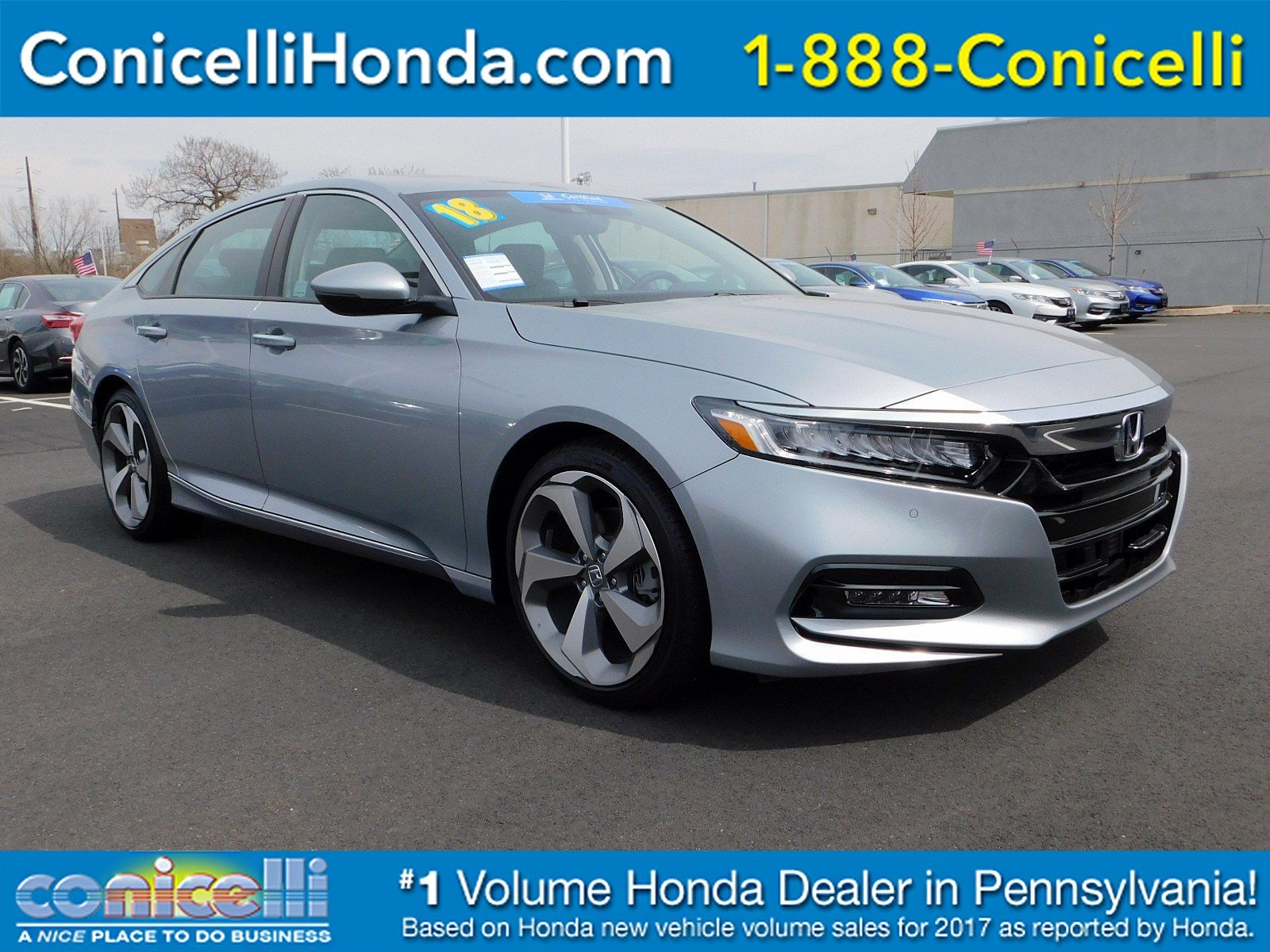 2018 Honda ACCORD SEDAN Touring 2.0T photo