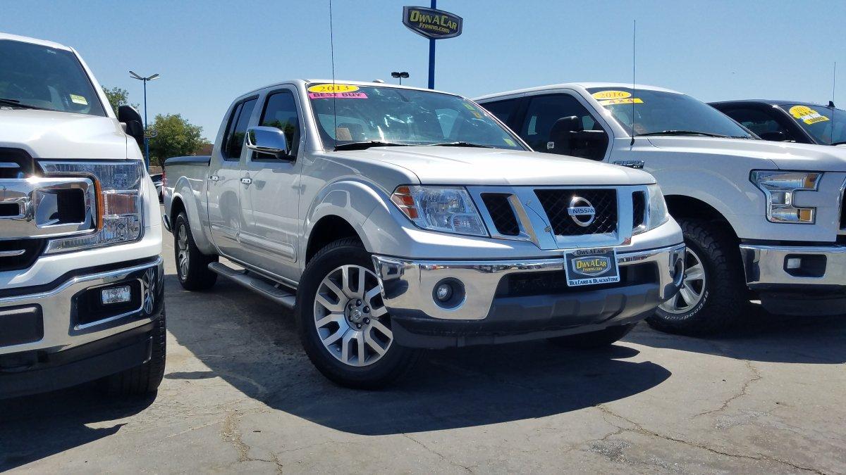 Nissan Frontier Under 500 Dollars Down