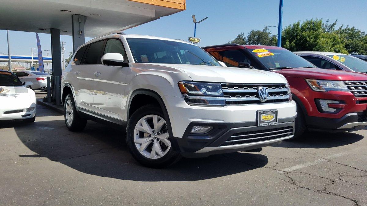 Volkswagen Atlas Under 500 Dollars Down