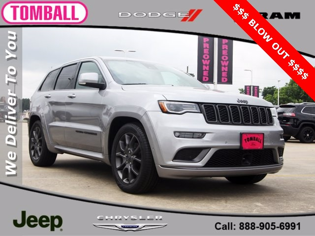 2020 Jeep Grand Cherokee Overland photo