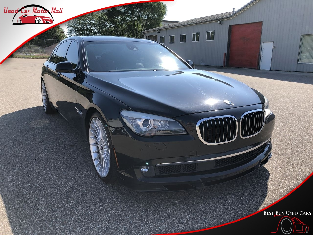 2012 BMW 7 Series ALPINA B7 LWB
