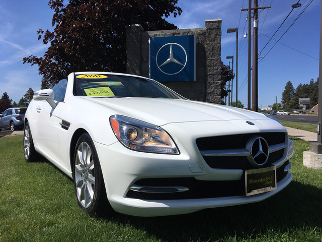 New and used mercedes benz slk for sale the car connection for Mercedes benz of bend