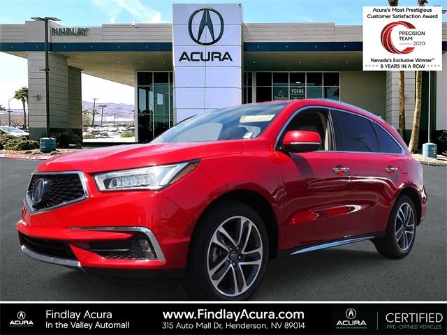 2018 Acura MDX w/Advance Pkg photo