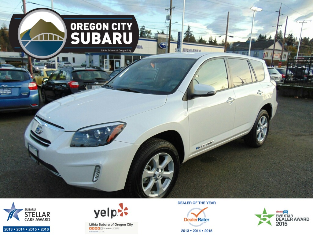 new and used toyota rav4 ev for sale in portland or the car connection. Black Bedroom Furniture Sets. Home Design Ideas
