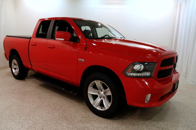 2014 Ram 1500 SPORT 4X4 QUAD CAB with NAVIGATION