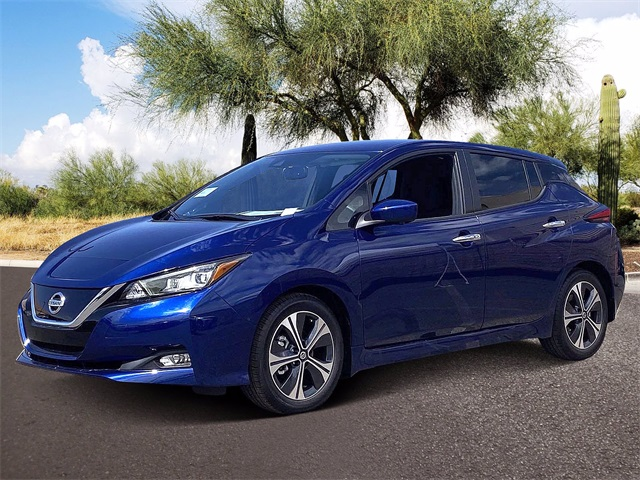 2021 Nissan LEAF SV photo