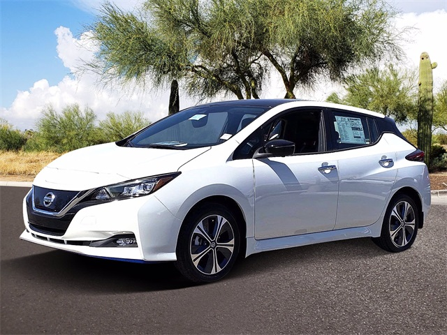 2021 Nissan LEAF SL PLUS photo