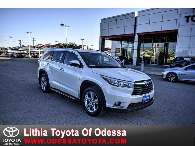 2015 Toyota Highlander Limited photo