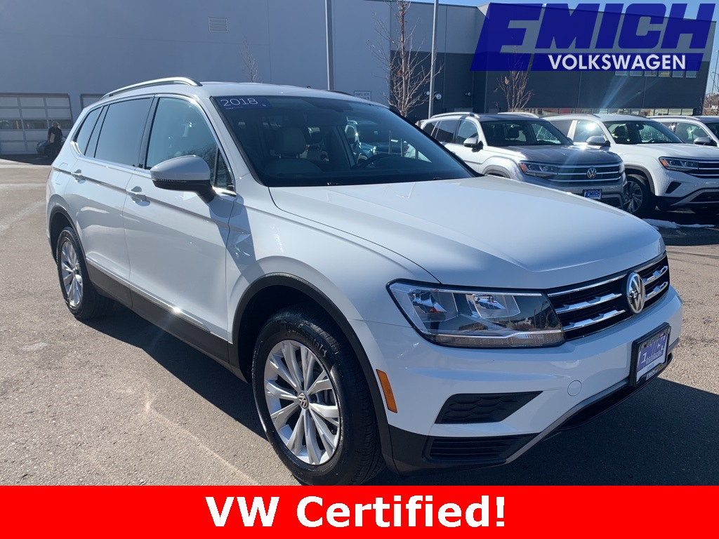 2018 Volkswagen Tiguan  photo