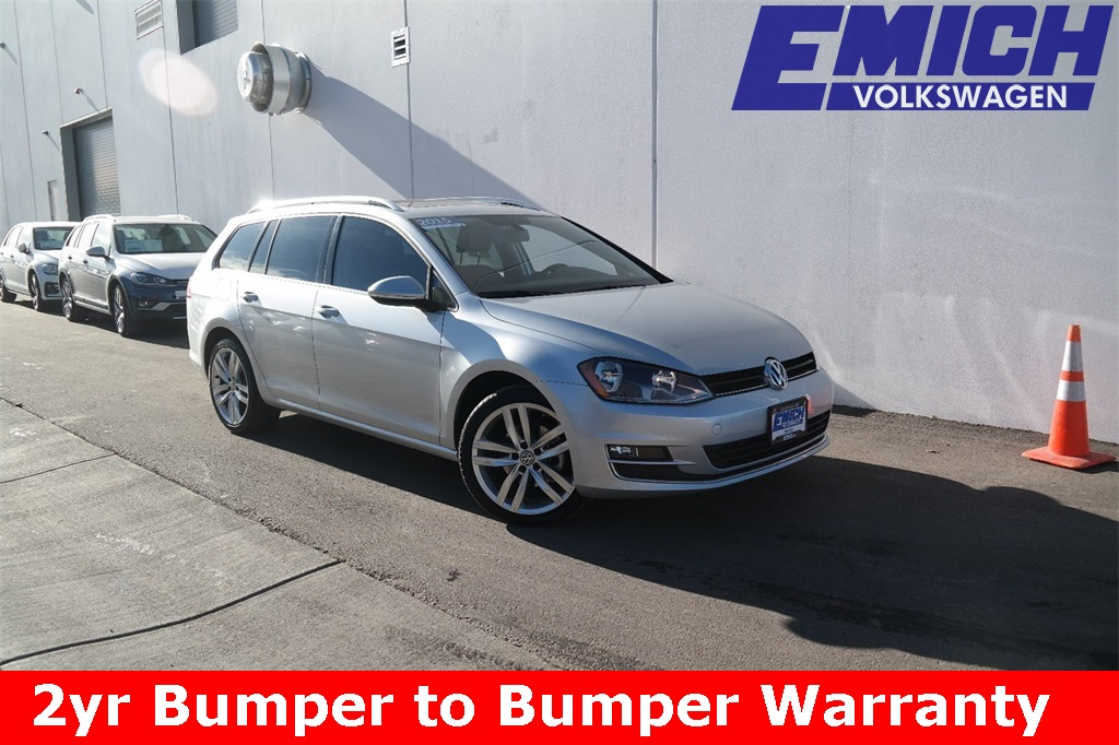 Volkswagen Golf SportWagen Under 500 Dollars Down