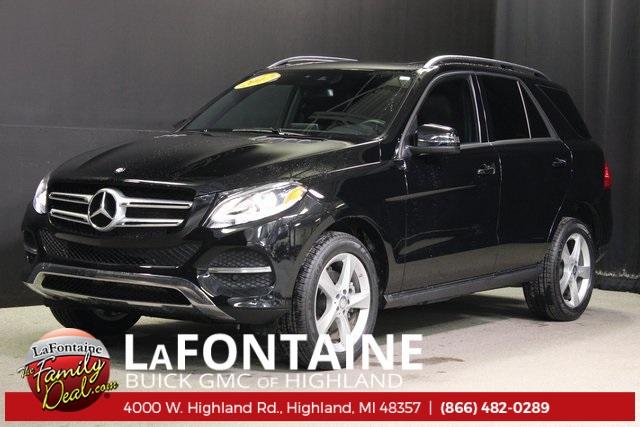 2017 Mercedes-Benz GLE