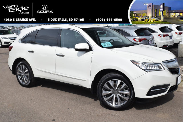 Sioux Falls, SD - 2016 Acura MDX