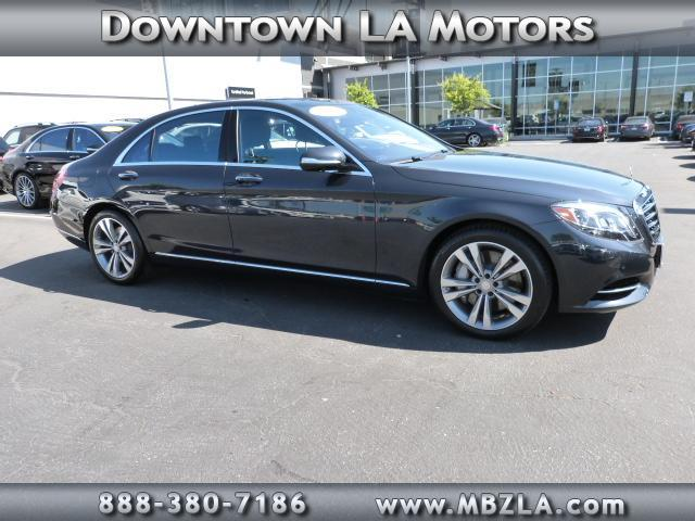 New and used mercedes benz s class for sale in los angeles for Used mercedes benz for sale in california