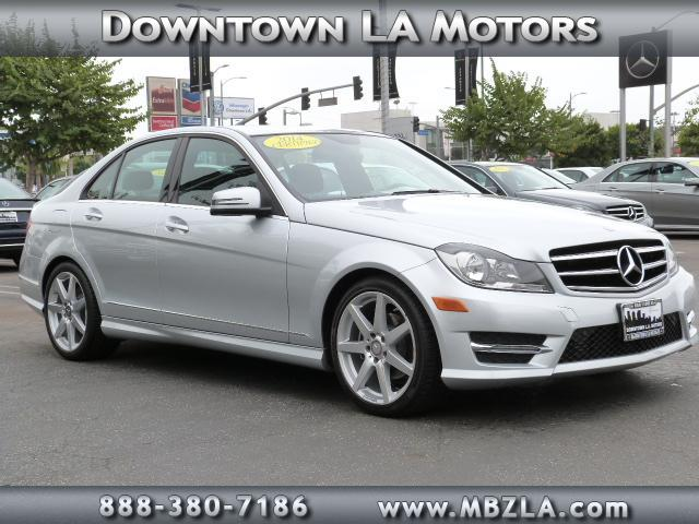 New and used mercedes benz c class for sale in los angeles for Downtown la motors mercedes benz