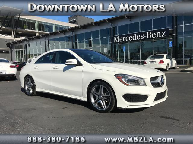 New and used mercedes benz cla class for sale in los for Downtown la motors mercedes benz