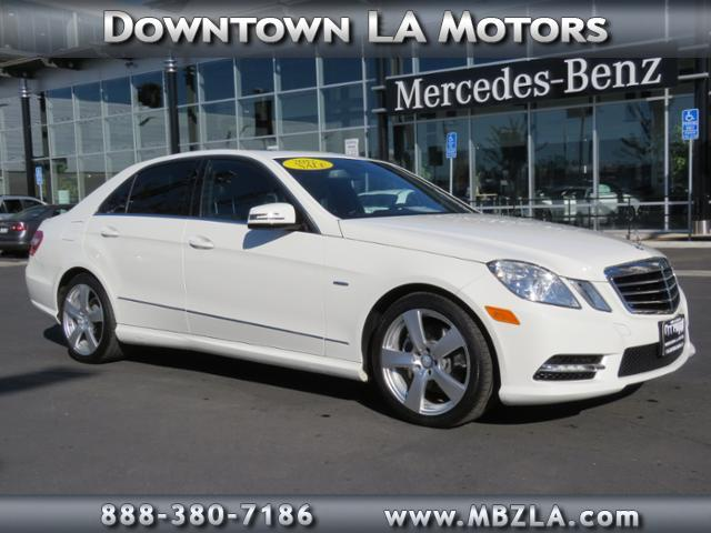 Used mercedes benz e class for sale in los angeles ca for Mercedes benz of downtown los angeles ca