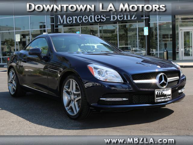 New and used mercedes benz slk class for sale in los for Calstar mercedes benz