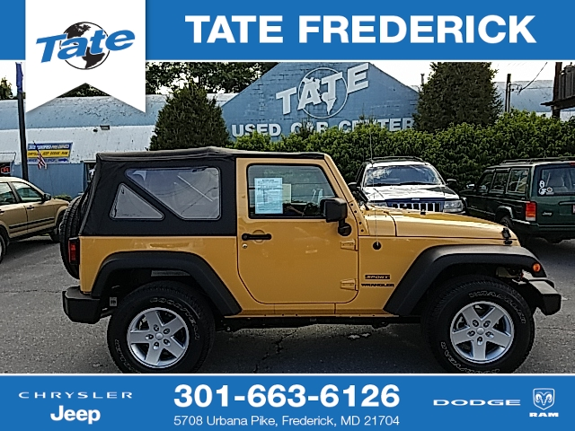 New And Used Jeep Wranglers For Sale In Maryland Md