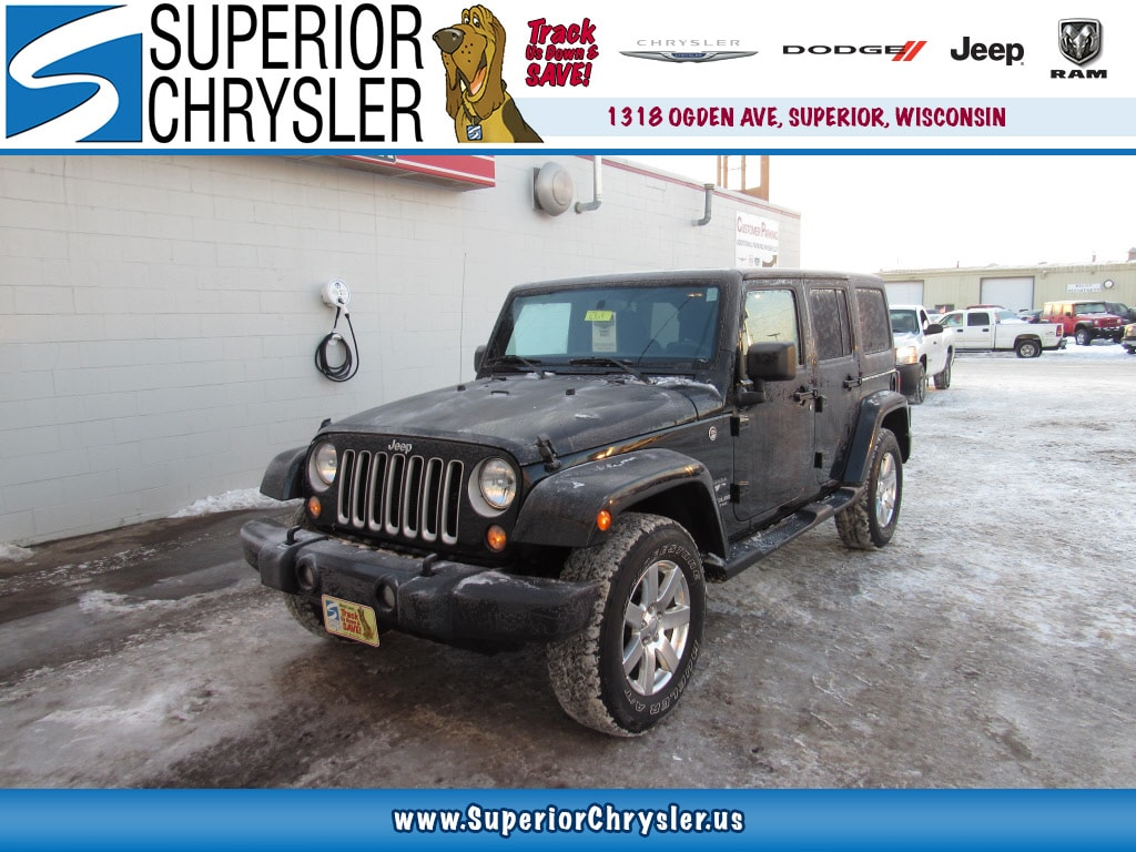 Superior, WI - 2016 Jeep Wrangler Unlimited
