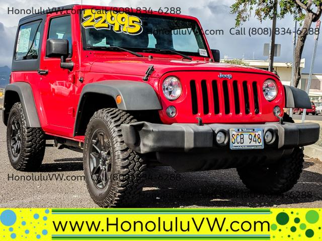 2014 Jeep Wrangler Sport photo