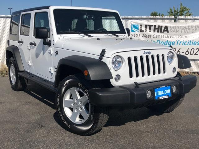 2017 Jeep Wrangler Unlimited for sale in Kennewick