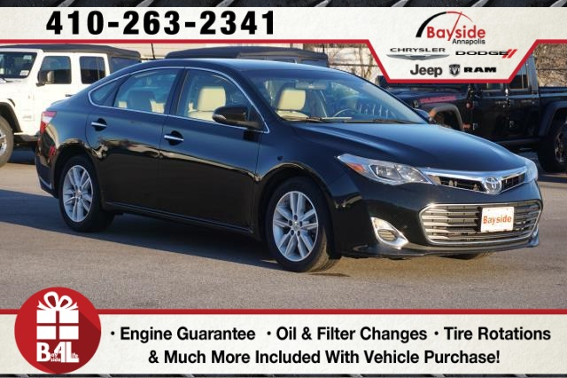 Toyota Avalon Under 500 Dollars Down