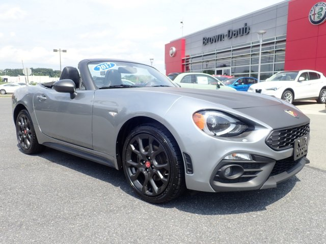 FIAT 124 Spider Under 500 Dollars Down