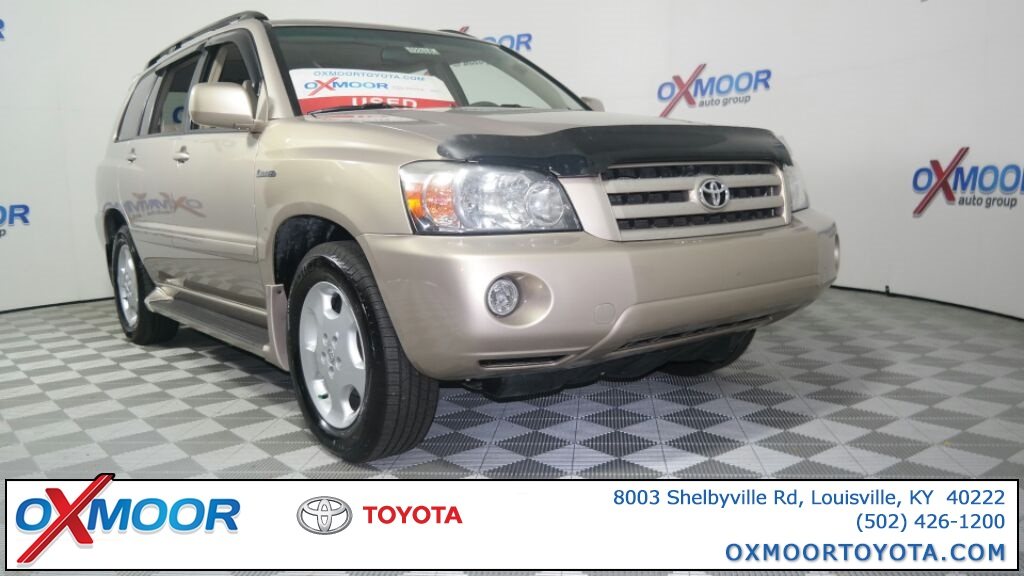 Pre Owned Toyota Highlander Under $500 Down