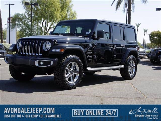 2020 Jeep Wrangler Unlimited Sahara photo