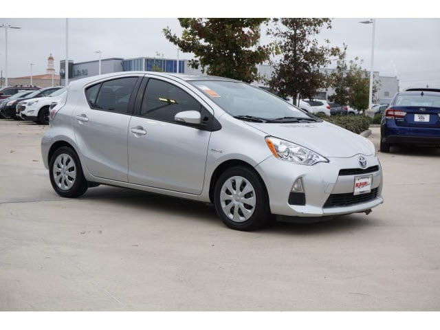 Toyota Prius c Under 500 Dollars Down