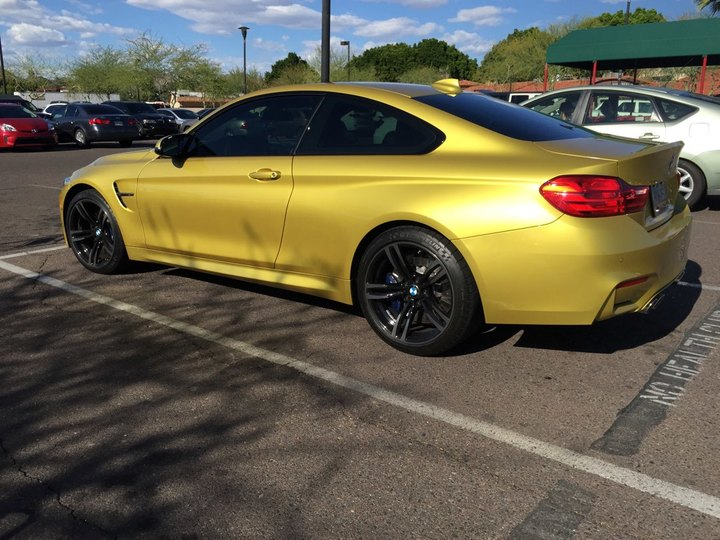 2015 BMW 4 Series M4 2D Coupe