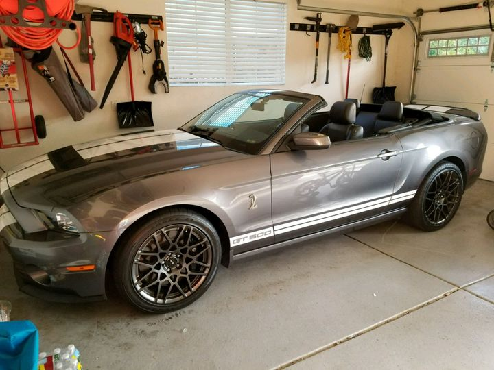2014 Ford Mustang 2D Convertible Shelby GT500
