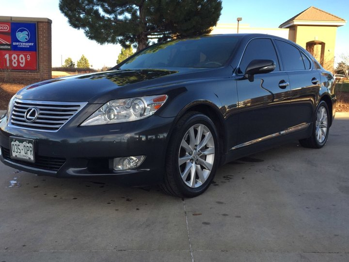 2010 Lexus LS 460 4D Sedan AWD Base