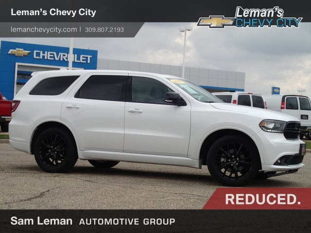 Bloomington, IL - 2017 Dodge Durango