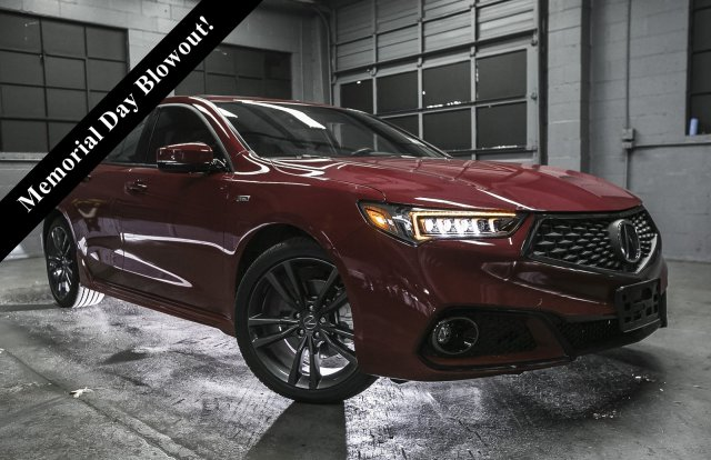 2018 Acura TLX V6 A-Spec Red