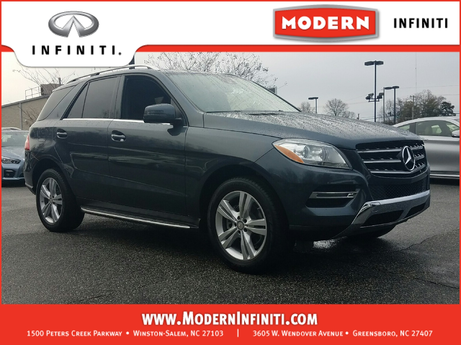New and used mercedes benz ml for sale in thomasville nc for New mercedes benz ml