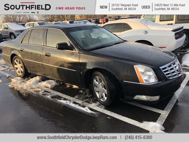 Cadillac DTS Under 500 Dollars Down