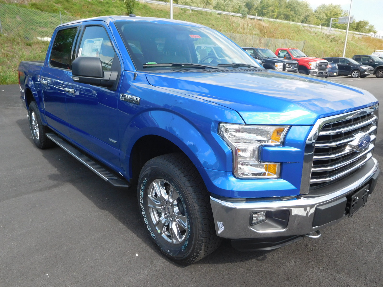 2016 Ford F 150 Blue Blue 2016 Ford F 150 Car For Sale