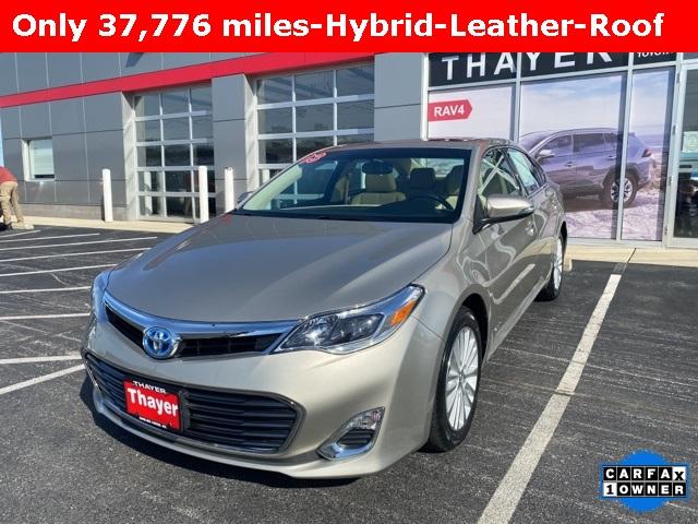 Toyota Avalon Hybrid Under 500 Dollars Down