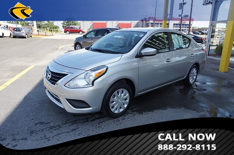 Nissan Versa Sedan Under 500 Dollars Down