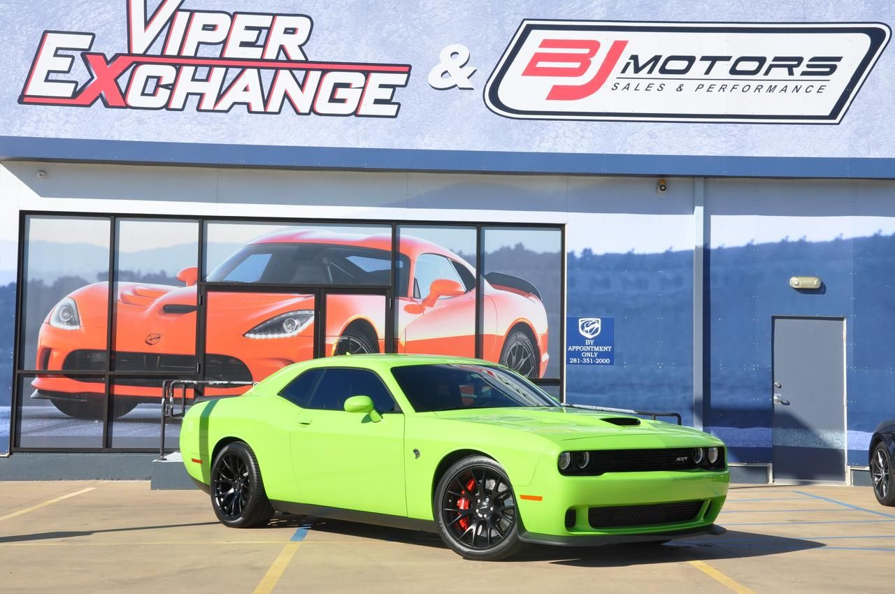 2015 Dodge Challenger SRT Hellcat Sublime 800HP